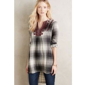 Anthropologie Floreat Tunic